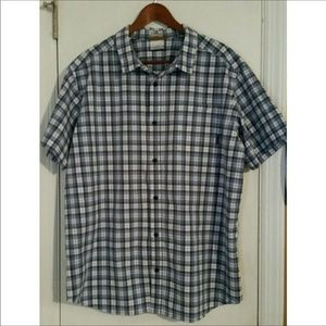 Columbia XXL Plaid button up Men's shirt